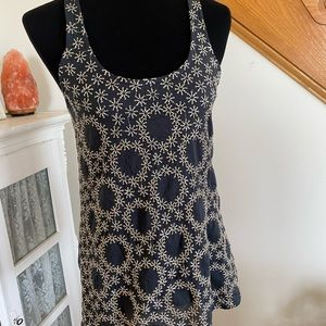 Anthropology NWT Embroidered Tank
